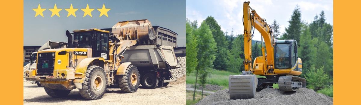 Excavators, Mini-Excatavors, BobCats, Diggers & More